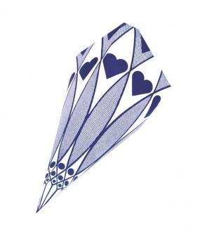 Papierspitztüten Herzen blau 25 cm 1.000 Stück