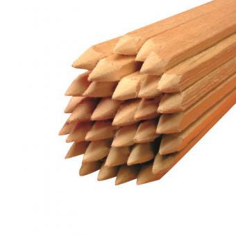 Holz Vierkantstäbe gespitzt Ø 4 mm Länge 330 mm  1.000 Stück