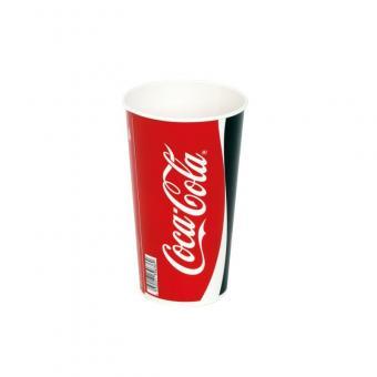 Coca Cola Becher 32 oz / 0,75 Liter 500 Stück