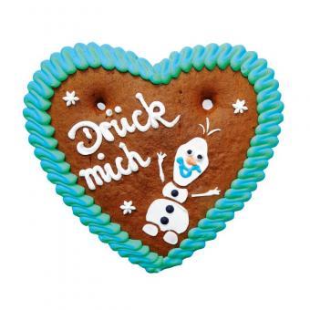 Lebkuchenherzen Winterzauber-Herz mit Motiv 100g 40 Stück