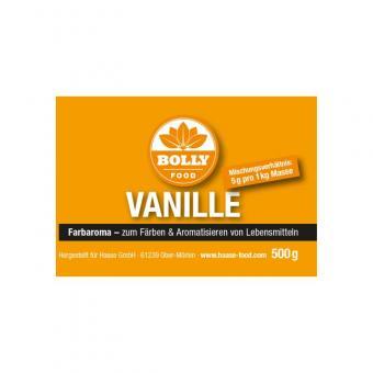 Farbaroma Vanille gelb 500 g Glas