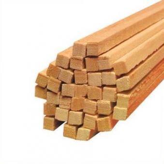 Holz Vierkantstäbe für Zuckerwatte Ø 4 mm Länge 300 mm 1.000 Stück