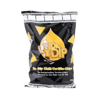 Dr. Dip Tortilla Chili Chips 12 x 500 g