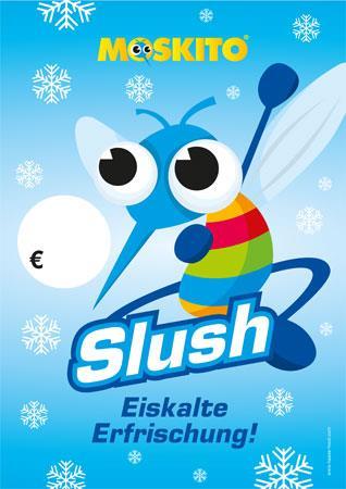Poster Slush mit Preisfläche DIN A1