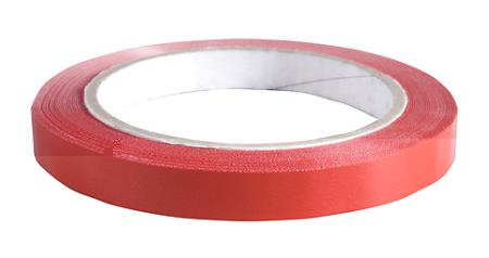Klebeband rot 9 mm breit 66 m pro Rolle
