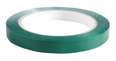 Klebeband grün 1,2 cm breit 66 m pro Rolle