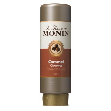 MONIN Sauce Caramel 0,5 Liter Flexi-Flasche