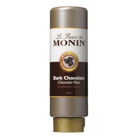 MONIN Sauce Dunkle Schokolade 0,5 Liter Flexi-Flasche