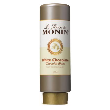 MONIN Sauce Weiße Schokolade 0,5 Liter Flexi-Flasche