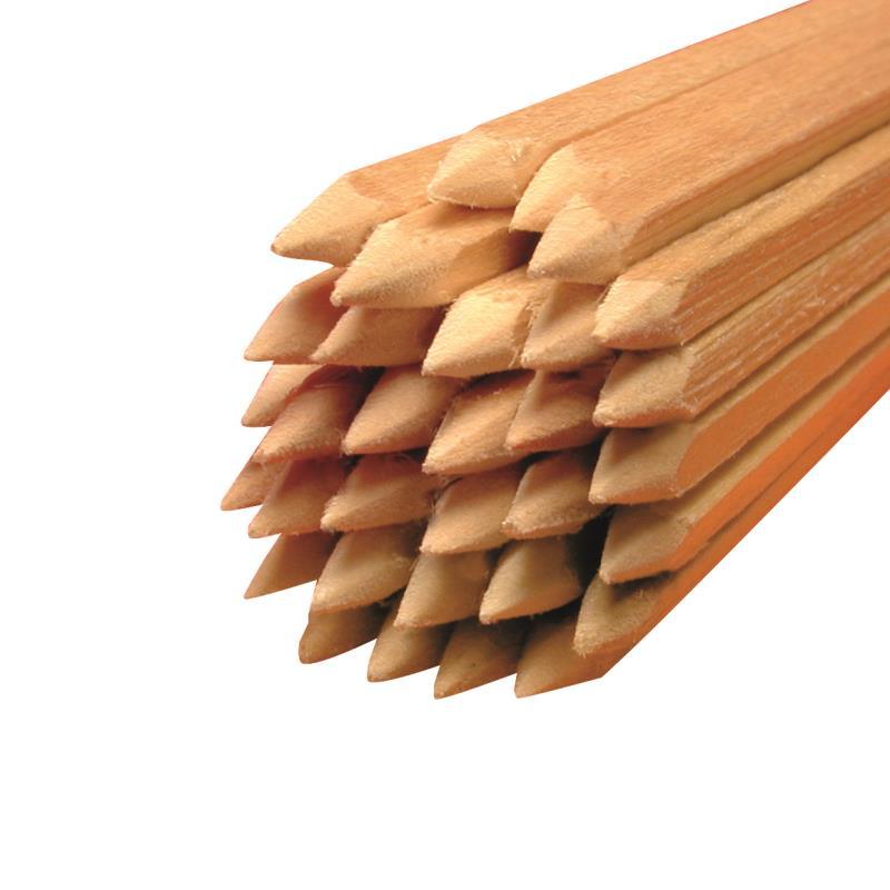 Holz Vierkantstäbe gespitzt für Bananen Ø 4 mm Länge 300mm 1.000 Stück