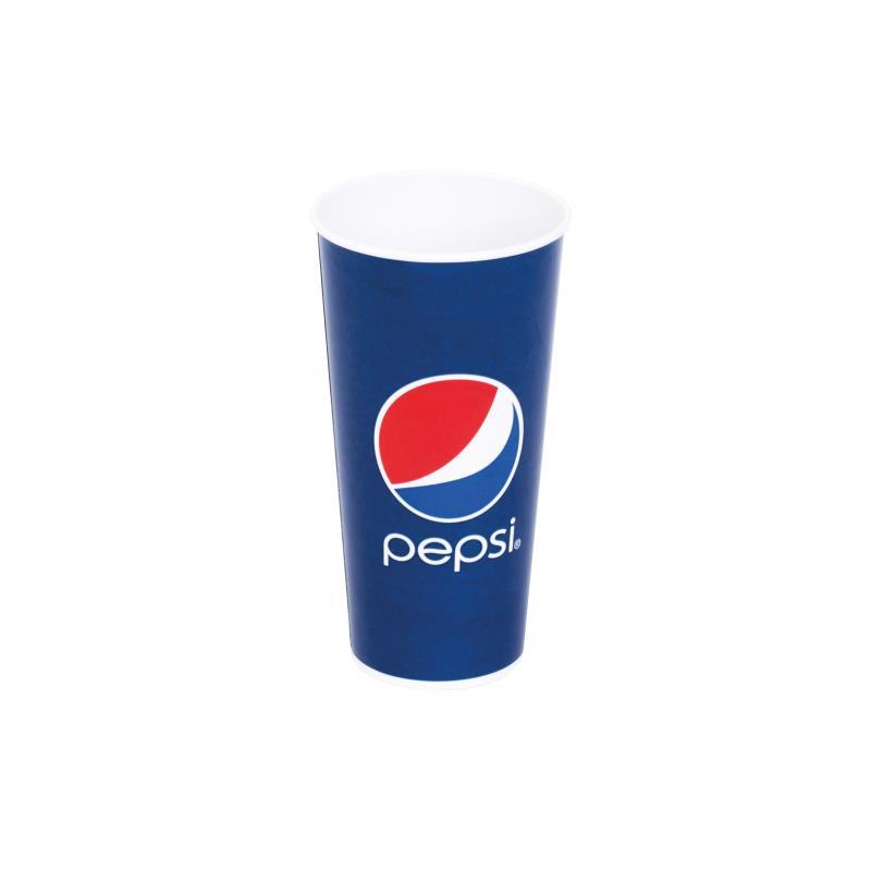 Pepsi-Becher 22 oz / 0,5 Liter 1.000 Stück