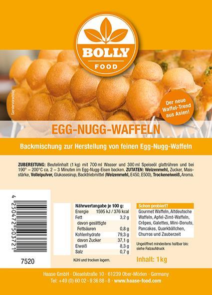 Backmischung Egg Nugg 1 kg Beutel