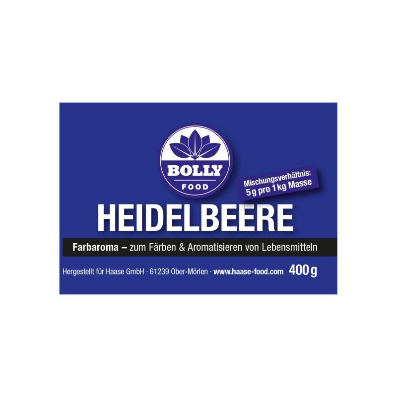 Farbaroma Heidelbeere blau 400 g Glas