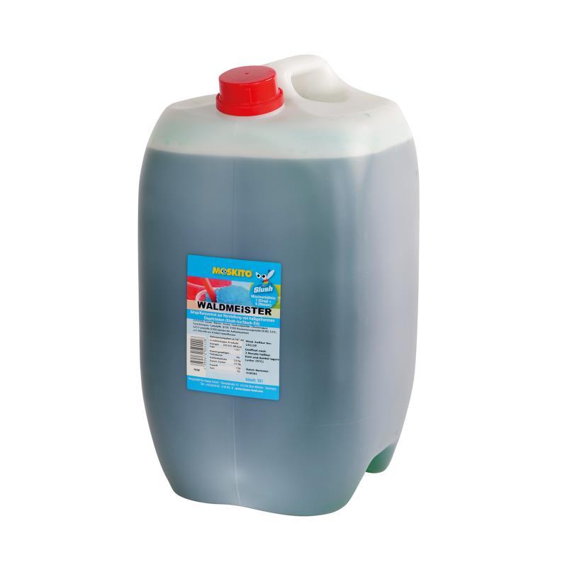Slush Konzentrat Waldmeister grün 1:5 10 Liter Kanister