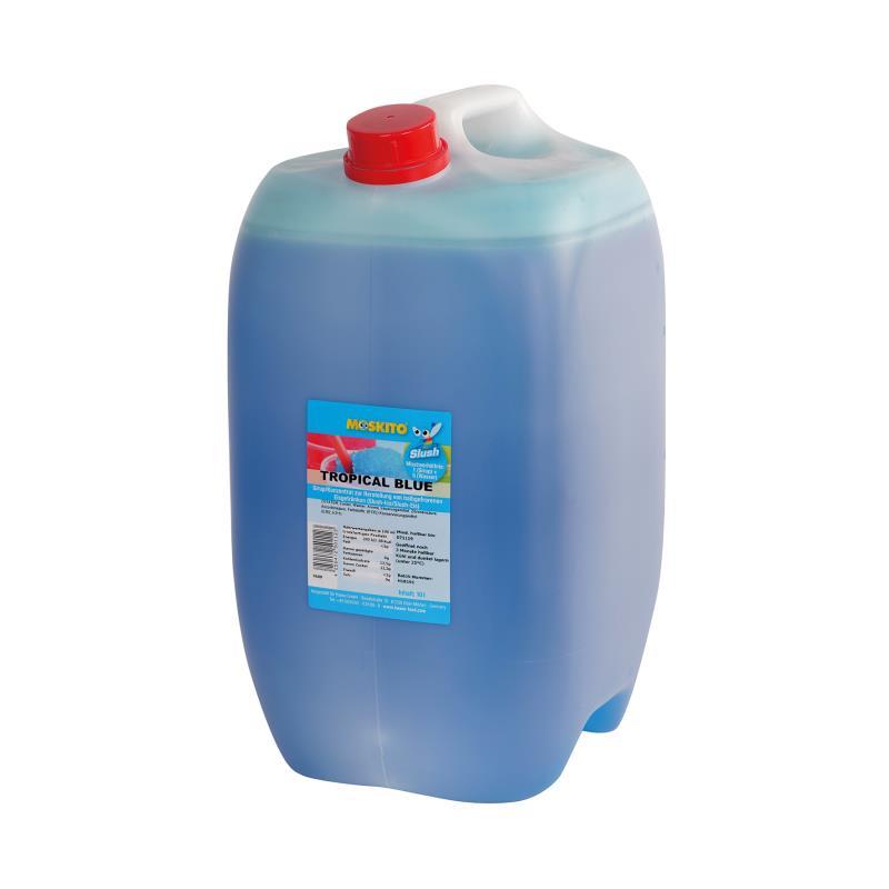 Slush Konzentrat Tropical Blue blau 1:5 10 Liter Kanister