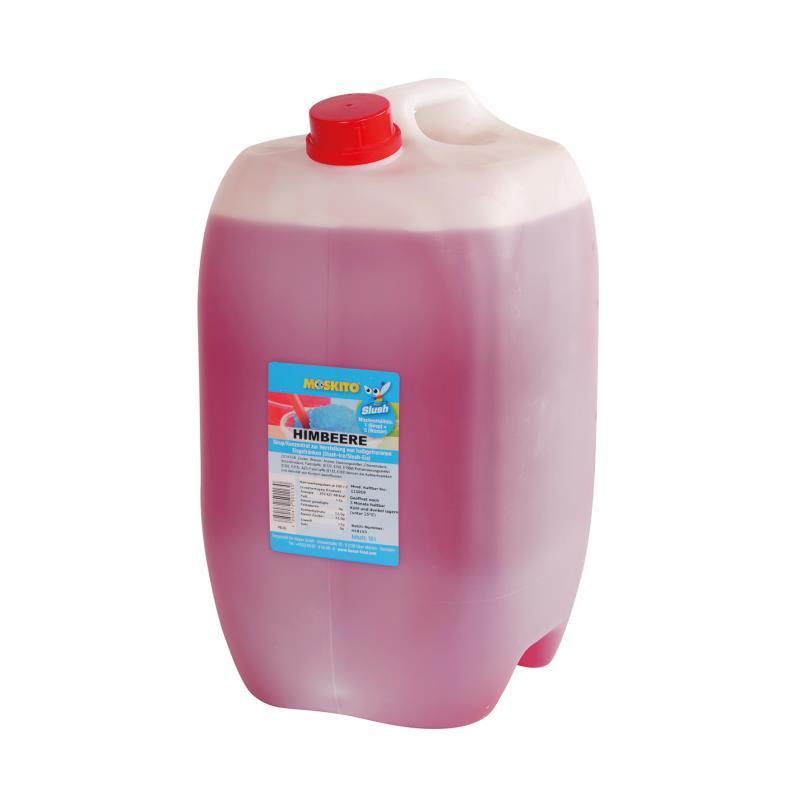 Slush Konzentrat Himbeere rot 1:5 10 Liter Kanister