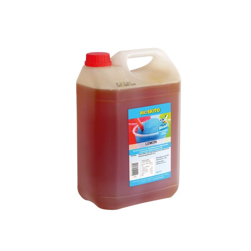 Slush Konzentrat Lemon hellgelb 1:5 5 Liter Kanister - ohne AZO