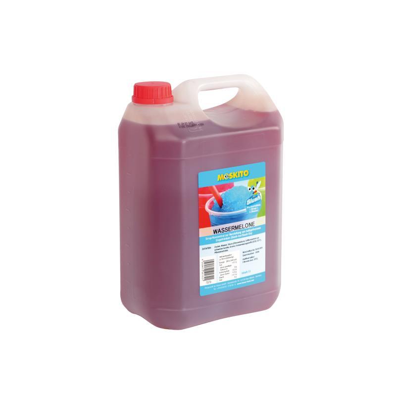Slush Konzentrat Wassermelone rot-orang 1:5 5 Liter Kanister  - ohne AZO