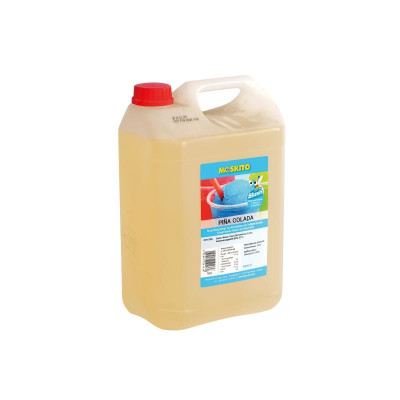Slush Konzentrat Pina-Colada weiß 1:5 5 Liter Kanister - ohne AZO