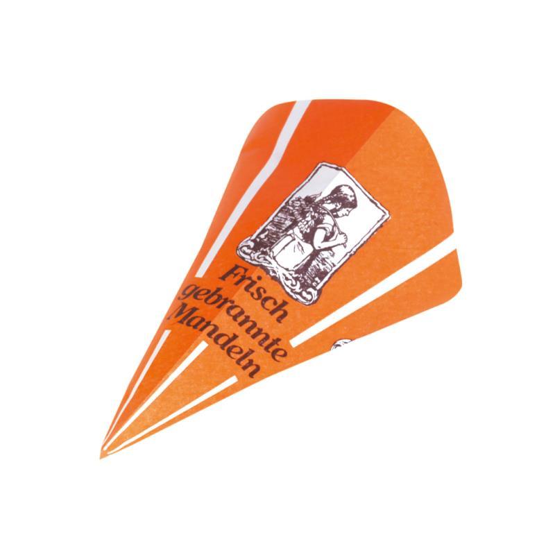 Papierspitztüten Blumenmädchen Mandel orange 19 cm 1.000 Stück