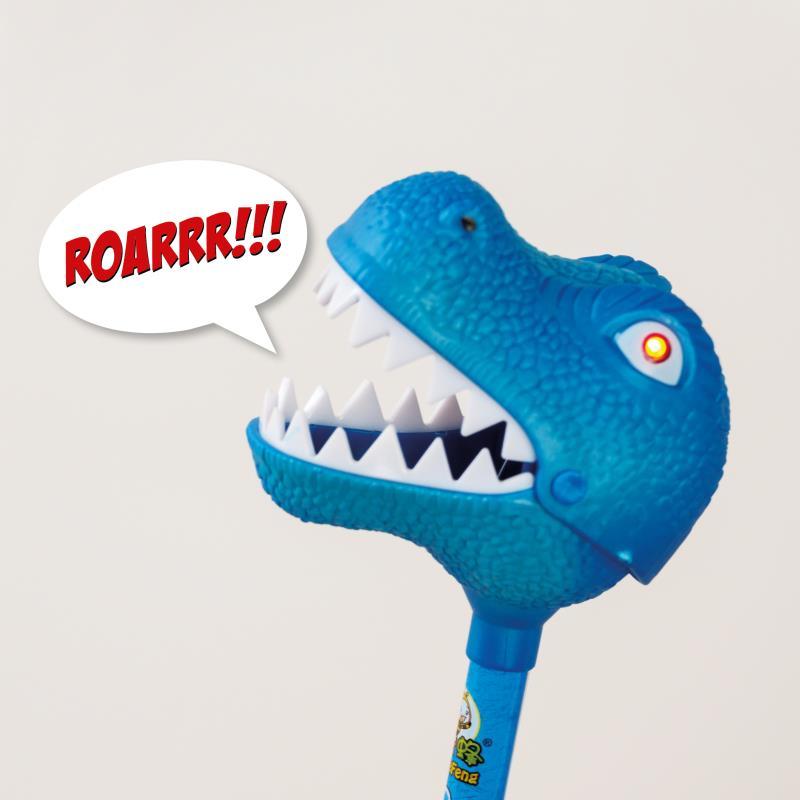 T-Rex mit Licht + Sound, 6-fach sortiert