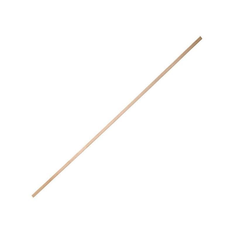 Holz Vierkantstäbe für Zuckerwatte Ø 4 mm Länge 500 mm 1.000 Stück