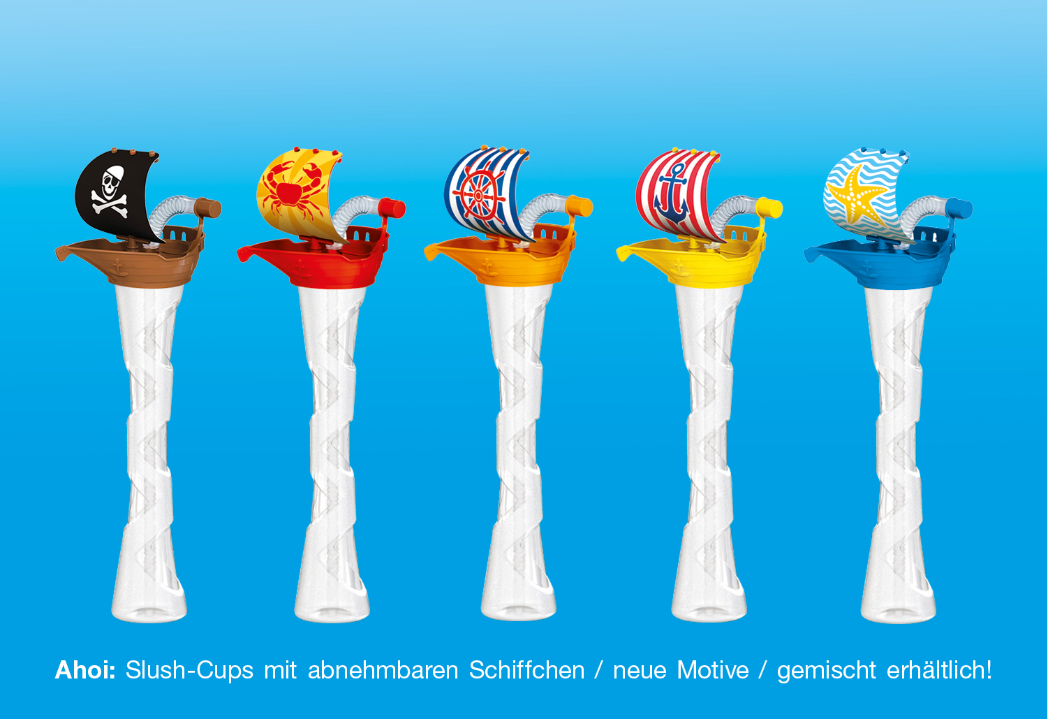 Neu: Slush-Cups im Mix!